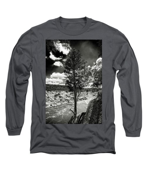 Great Falls Tree Long Sleeve T-Shirt