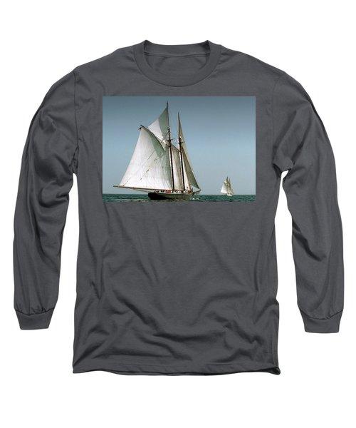 Great Gloucester Schooner Race Long Sleeve T-Shirt