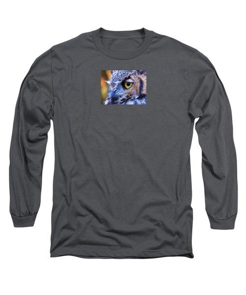 Feather Eyelashes Long Sleeve T-Shirt