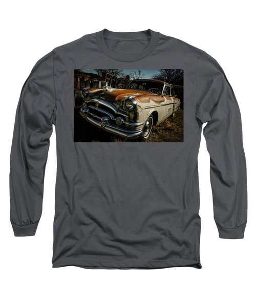 Long Sleeve T-Shirt featuring the photograph Great Old Packard by Marilyn Hunt