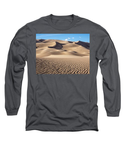 Great Sand Dunes National Park In Colorado Long Sleeve T-Shirt