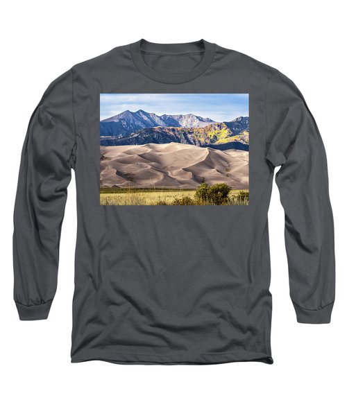 Great Sand Dunes Of Southern Colorado Long Sleeve T-Shirt