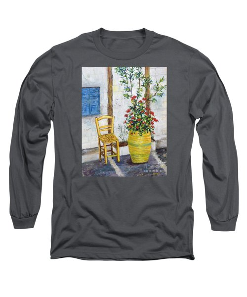Greek Chair Long Sleeve T-Shirt