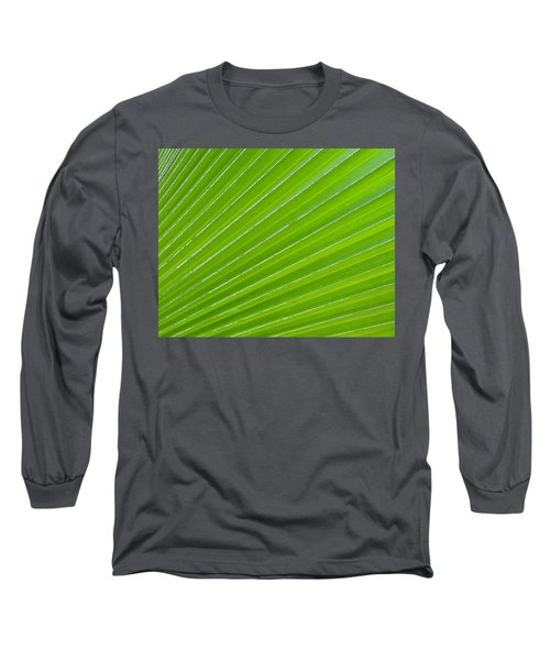 Green Abstract No. 1 Long Sleeve T-Shirt