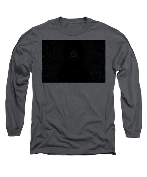 Green Alien Long Sleeve T-Shirt