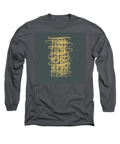 Green And Gold 1 Long Sleeve T-Shirt
