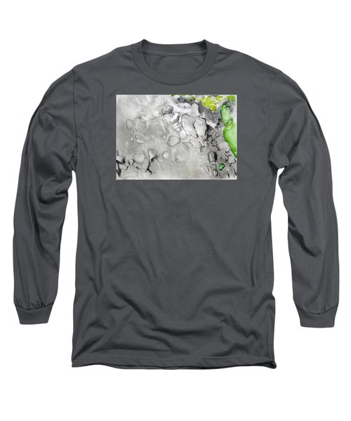 Green And Gray Stones Long Sleeve T-Shirt
