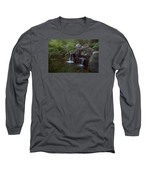 Green Garden Long Sleeve T-Shirt by Catherine Lau