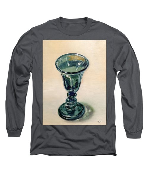 Green Glass Goblet Long Sleeve T-Shirt