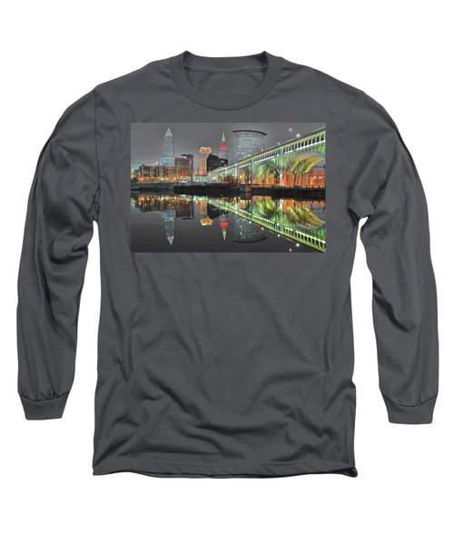 Long Sleeve T-Shirt featuring the photograph Green Glow by Frozen in Time Fine Art Photography