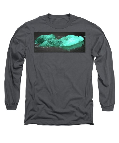 Green Iceberg Long Sleeve T-Shirt
