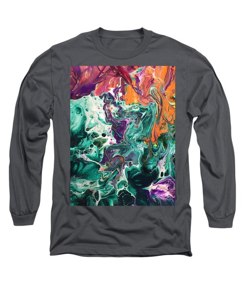 Green Lagoon Long Sleeve T-Shirt