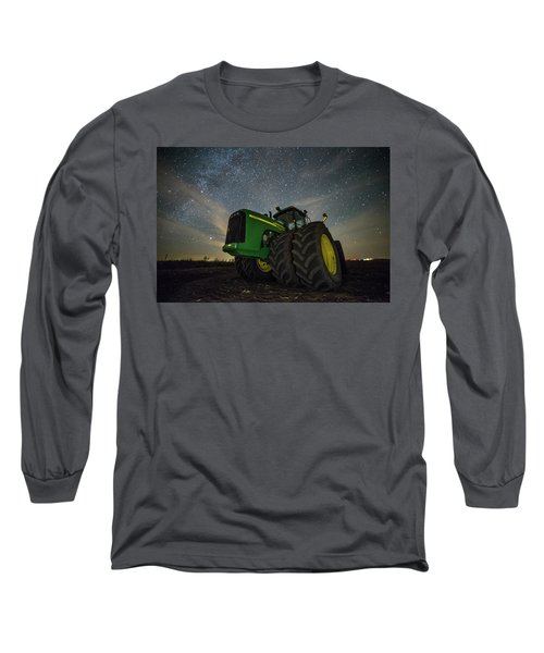 Long Sleeve T-Shirt featuring the photograph Green Machine  by Aaron J Groen