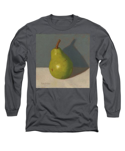 Green Pear Long Sleeve T-Shirt