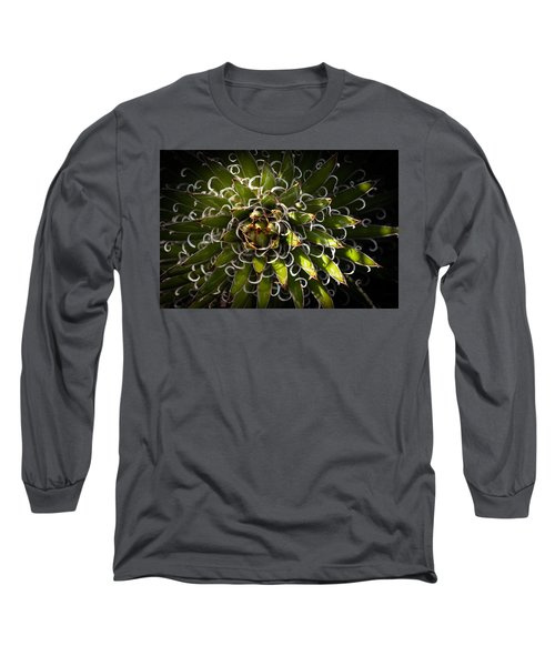 Green Plant Long Sleeve T-Shirt
