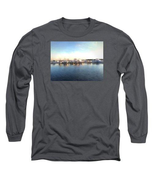 Green Pond Harbor Long Sleeve T-Shirt