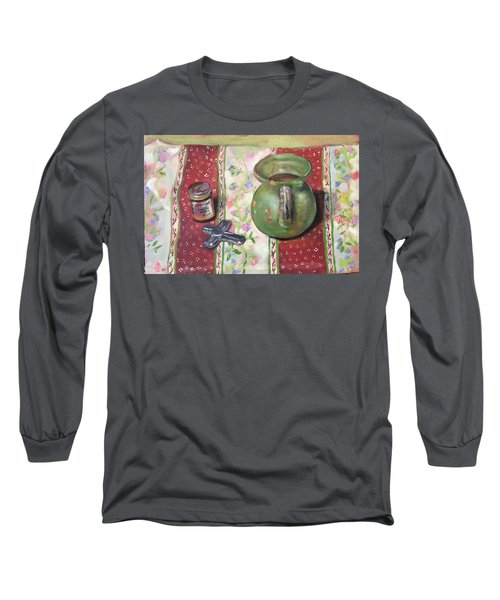 Green Pot Long Sleeve T-Shirt