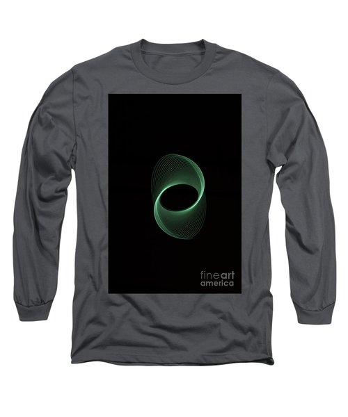 Green Spiral Long Sleeve T-Shirt