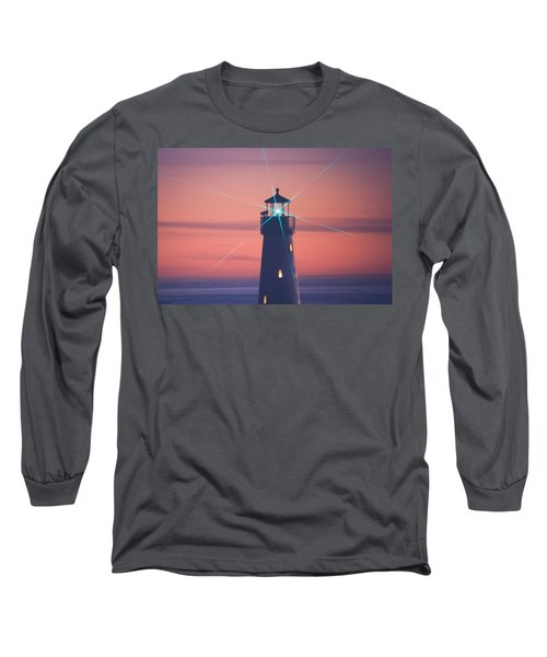 Long Sleeve T-Shirt featuring the photograph Green Star by Lora Lee Chapman
