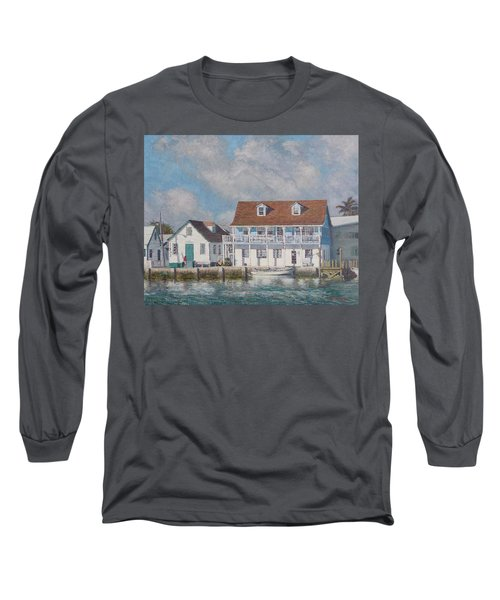 Green Turtle Cay Past And Present Long Sleeve T-Shirt