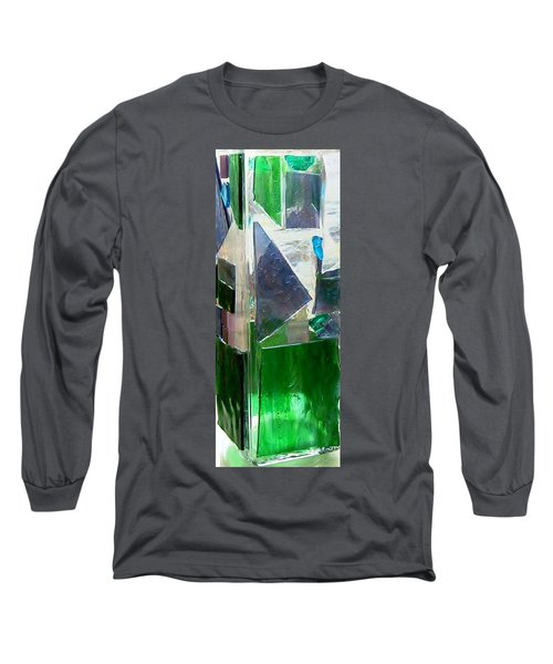 Long Sleeve T-Shirt featuring the glass art Green Vase by Jamie Frier