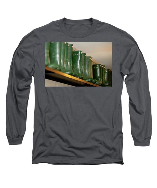 Green Wellies Long Sleeve T-Shirt