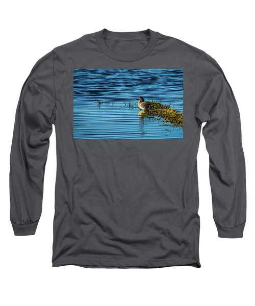 Green-winged Teal Long Sleeve T-Shirt