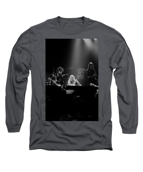 Greg Allman  Long Sleeve T-Shirt by Kevin Cable