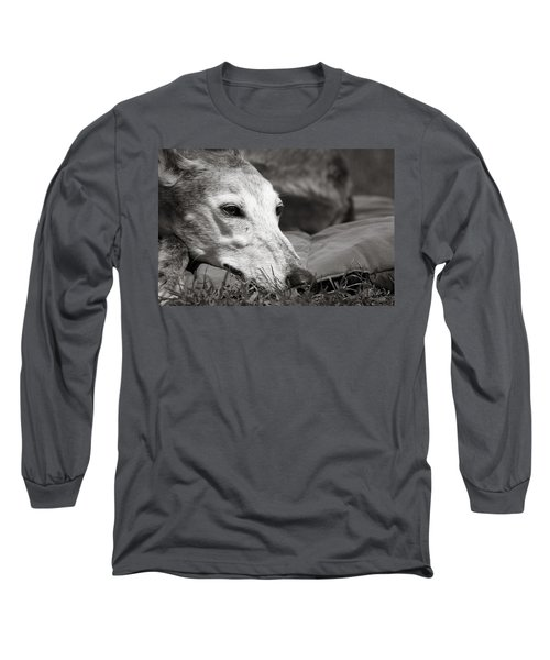Greyful Long Sleeve T-Shirt by Angela Rath
