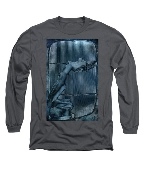 Long Sleeve T-Shirt featuring the digital art Grill Of The Ride by Greg Sharpe