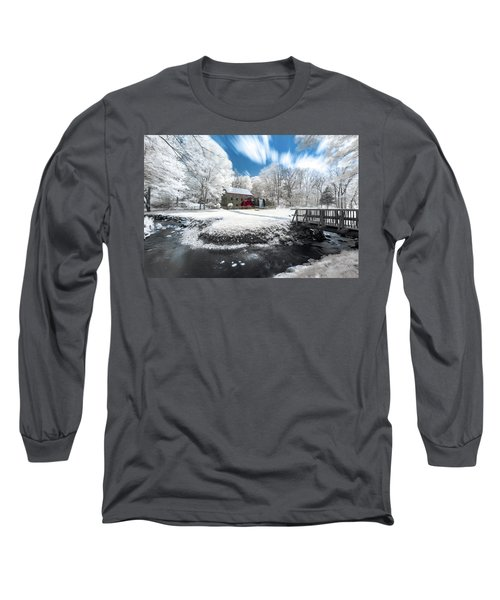 Grist Mill In Halespectrum Long Sleeve T-Shirt