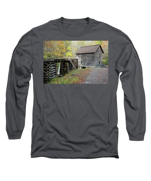 Grist Mill Long Sleeve T-Shirt by Lamarre Labadie