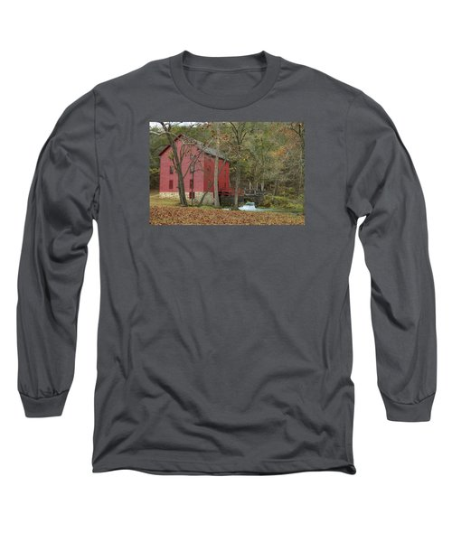Grist Mill Wwaterfall Long Sleeve T-Shirt