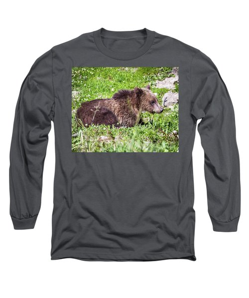 Grizzly Cub  Long Sleeve T-Shirt