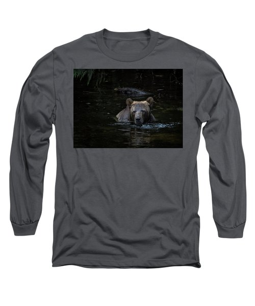 Grizzly Swimmer Long Sleeve T-Shirt