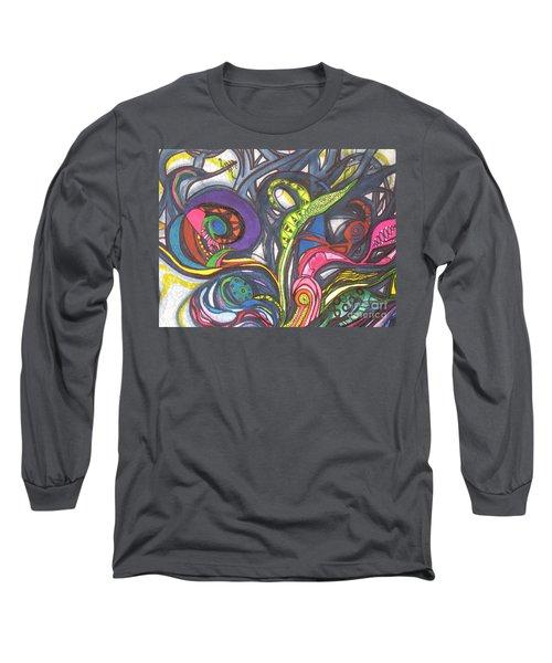 Groovy Series Long Sleeve T-Shirt by Chrisann Ellis