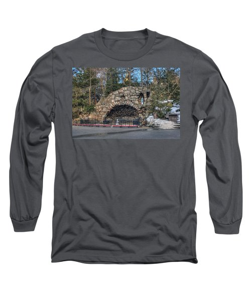 Grotto At Notre Dame University Long Sleeve T-Shirt