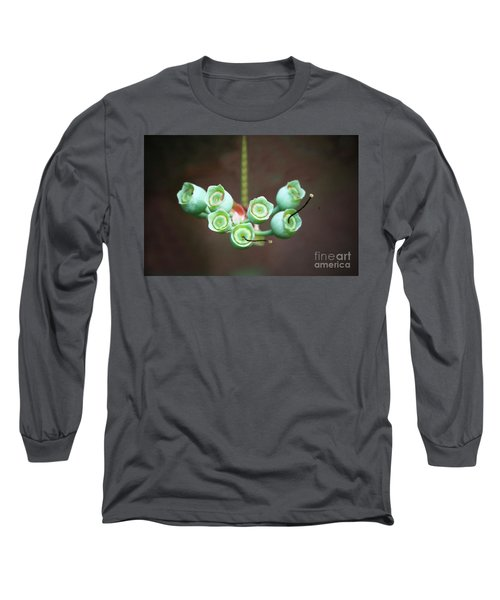 Growing Blueberries Long Sleeve T-Shirt