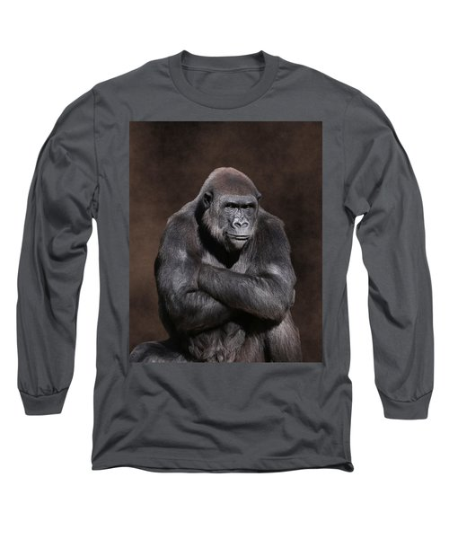 Grumpy Gorilla Long Sleeve T-Shirt