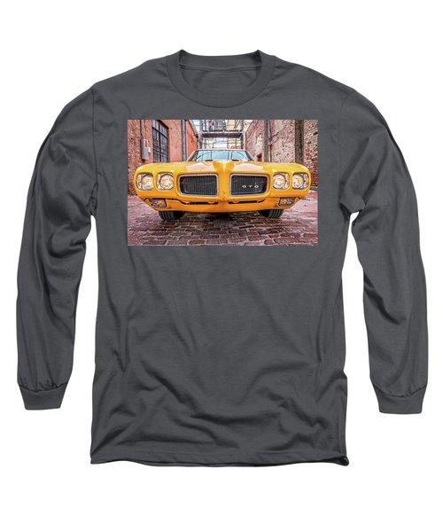 Gto - Pontiac Muscle Long Sleeve T-Shirt