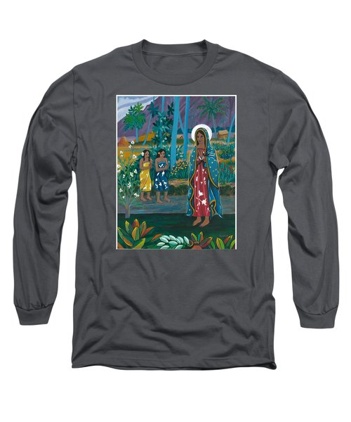 Guadalupe Visits Gauguin Long Sleeve T-Shirt