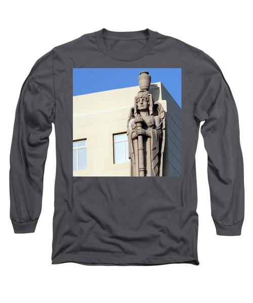 Guardian Angel And Blue Long Sleeve T-Shirt