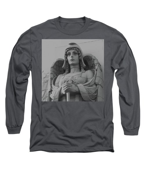 Guardian Angel On Watch Long Sleeve T-Shirt