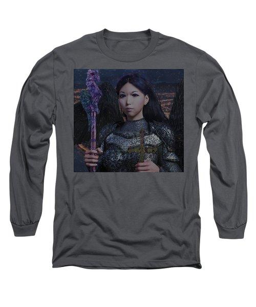 Guardian10 Long Sleeve T-Shirt by Suzanne Silvir