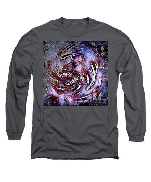 Guess Who Abstract Long Sleeve T-Shirt