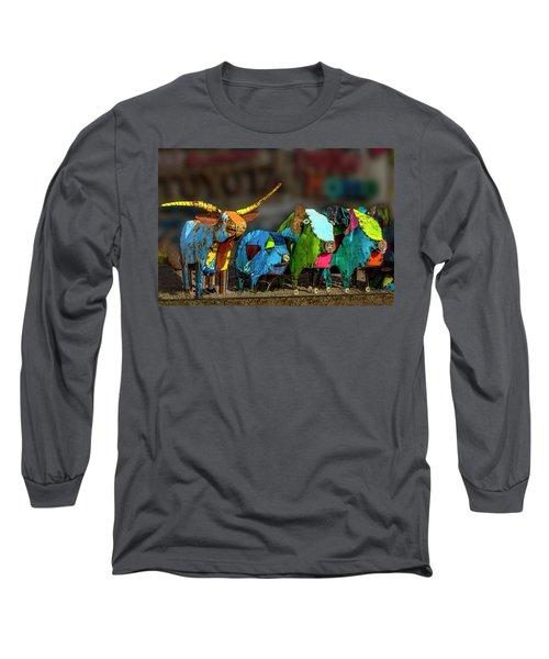 Long Sleeve T-Shirt featuring the photograph Guess Who's Coming To Dinner by Paul Wear