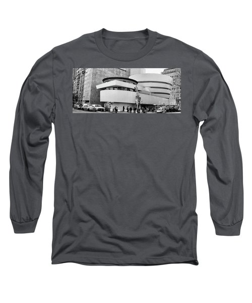 Guggenheim Museum Nyc Bw Long Sleeve T-Shirt
