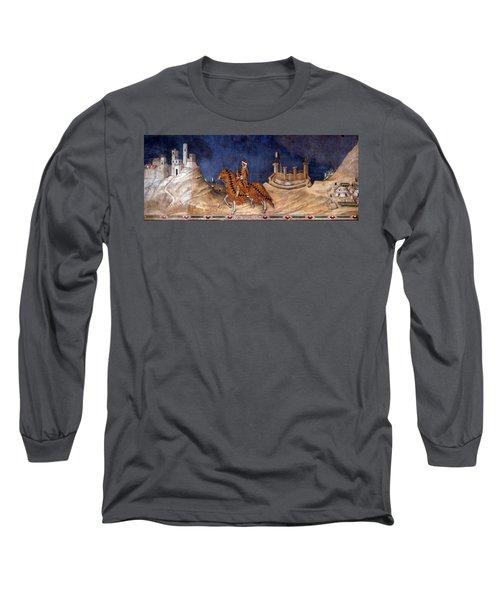 Guidoriccio Da Fogliano Long Sleeve T-Shirt