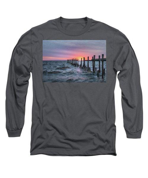 Gulf Coast Sunrise Long Sleeve T-Shirt