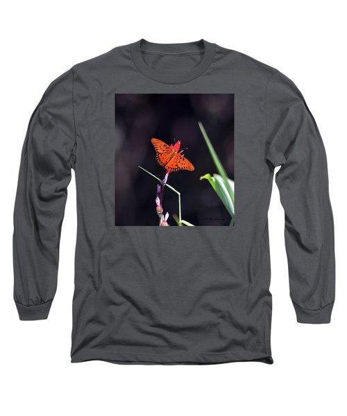 Gulf Fritillary Butterflyl Long Sleeve T-Shirt